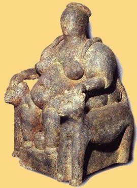 Resultado de imagen de çatal huyuk matrona